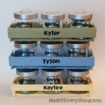 50 Jar Gifts Idea 6 Money Jars Telling Family Tales