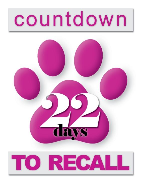 Single Paw Print Countdown23
