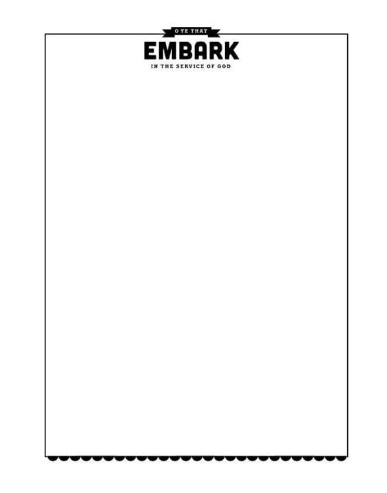 Service Journal blank9